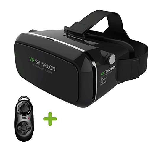 GZDL 4nd VR Box Virtual Reality Headset 3D Video Movie Game Glasses For 3.5-5.5 inch IOS Android Smartphones
