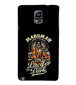 EPICCASE Marsman Mobile Back Case Cover For Samsung Galaxy Note Edge (Designer Case)