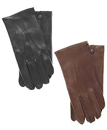 Raber Gloves Men's RCMP Dress Leather Gloves Size 7 Color Brown