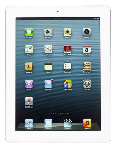 Apple iPad (4th Generation) WiFi 64GB White