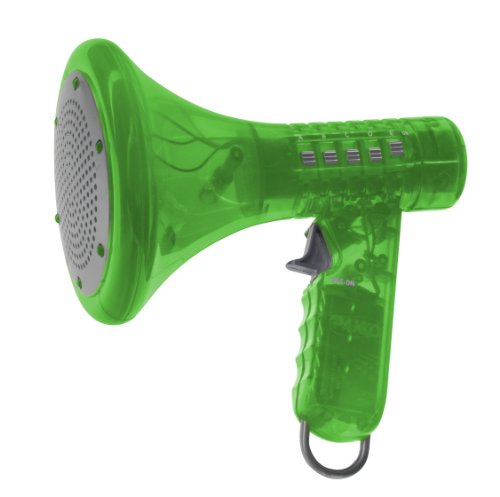 Multi Voice Changer By Toysmith: Change Your Voice With 8 Different Voice Modifiers - Kids Toy (Green) front-911716