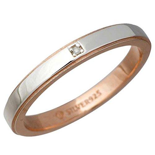 AQUA SILVER アクアシルバー ダイヤモンド シルバー リング 指輪 7~13号 ASR158PGC-DM