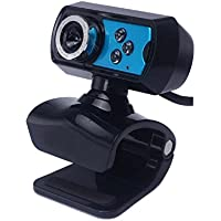 Ularmo 2015 New Hot USB HD Webcam Camera Web Cam With Microphone Mic LED For PC Laptop - B010M1VQP4
