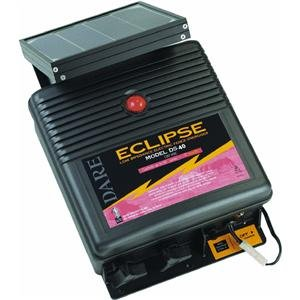 Dare Prod. Ds40 Eclipse 12V Solar Battery Fence Energizer