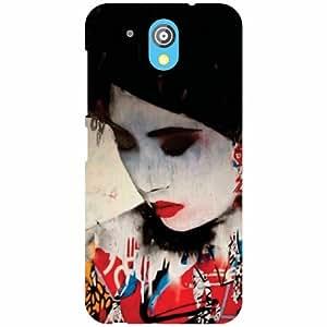 Htc Desire 526G Plus-Sleeping Beauty Matte Finish Phone Cover