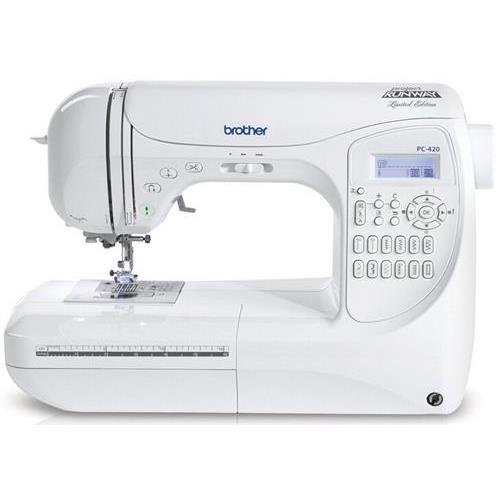 Brother Pc-210Prw Project Runway Electric Sewing Machine, 50 Built-In Stitches, Built-In Accessory Storage Pc210Prw