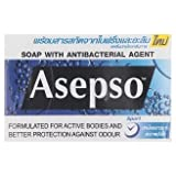Asepso Protects Body Odors Formula Soap 80g x 3 pcs