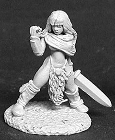 Lorna the Huntress, Female Barbarian