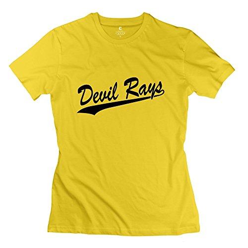 Zhitian Women'S Devil Rays T-Shirt - L Yellow
