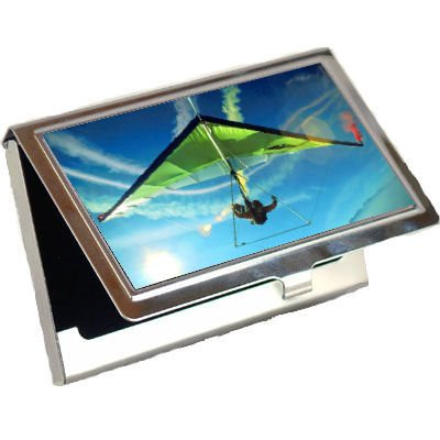 Hang Gliding Business Card Holder