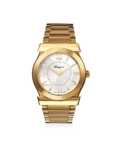 Salvatore Ferragamo Men's VEGA Gold/Silver Stainless Steel Watch