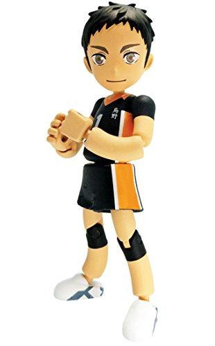 Takara Tomy Haikyuu!! PG03 Playgyure Sawamura Daichi 8cm Figure - 1