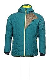 Puma Men\'s Hooded Primaloft Jacket, Storm, X-Large