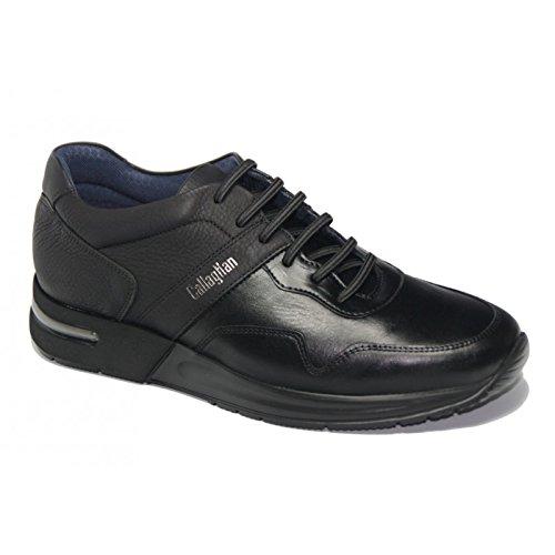 CallagHan 91300 Sneakers Uomo Pelle NEGRO NEGRO 43