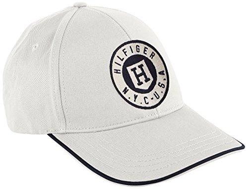 Tommy Hilfiger CLIFFDALE CAP - Berretto da baseball Uomo, Bianco (CLASSIC WHITE 100), Taglia unica