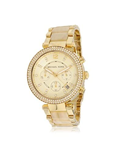 Michael Kors Women's MK5632 Gold-Tone Stainless Steel Watch As You See