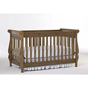 Graco Shelby Classic 4 in 1 Convertible Crib, Cappuccino (Discontinued by Manufacturer)