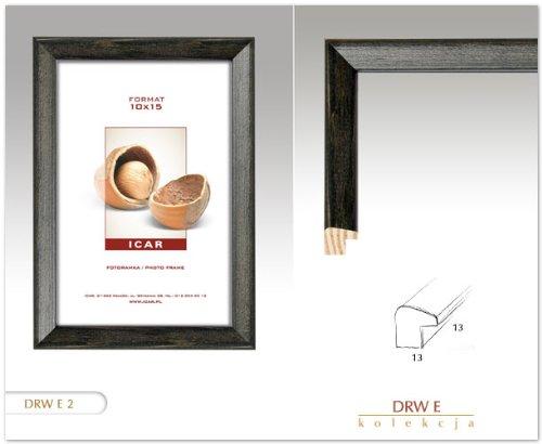 cadres cadre drw e noir 30x40 cm cadre en bois cadre photo. Black Bedroom Furniture Sets. Home Design Ideas