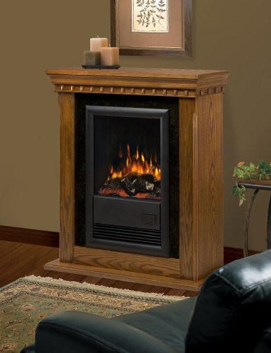 Dimplex Cfp3913o Compact Electric Fireplace With Oak