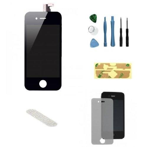 Sellicase© Iphone 4S Black Lcd Digitizer Front Screen Repair Kit