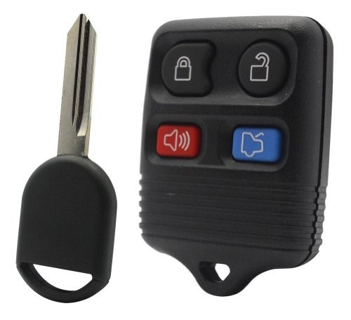 2007-07-lincoln-town-car-keyless-entry-remote-and-uncut-transponder-key-blade