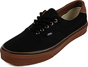 Vans Unisex Era 59 (C&L) Black/Classic Gum Skate Shoe 10 Men US