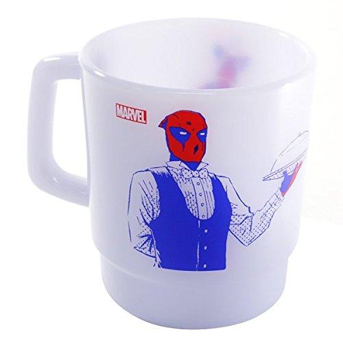 Marvel(マーベル) Deadpool(デッドプール) スタッキングマグカップ (ブルー)