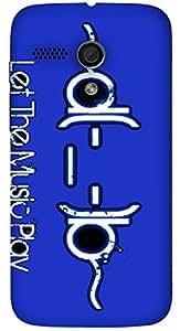 Great multicolor printed protective REBEL mobile back cover for Motorola Moto G (2014) 1st Gen D.No.N-L-14789-MG1