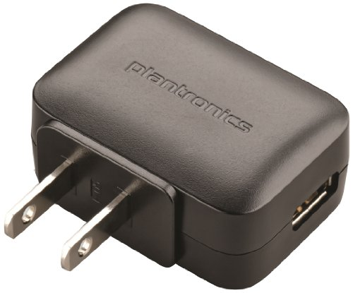 Plantronics Voyager Legend Modular Ac Wall Charger - Non-Retail Packaging - Black