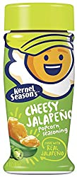 Kernel Season's Cheesy Jalapeno Popcorn Seasoning, 2.4 Ounce Shakers (Pack of 6)