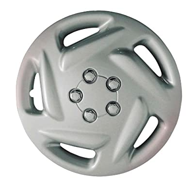 CCI IWC203-15S 15 Inch Clip On Silver Finish Hubcaps - Pack of 4