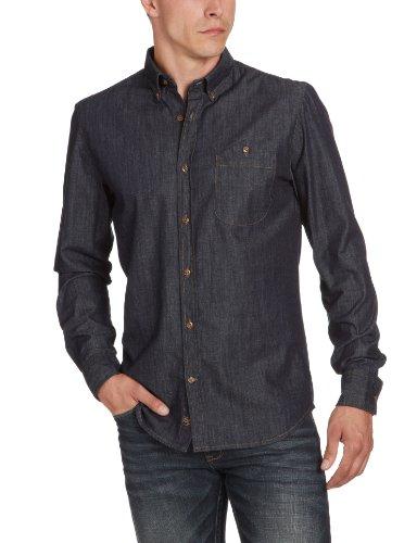 Matinique Men's D46351001 Bower P Casual Shirt Blue (D02 Dark Denim) 50