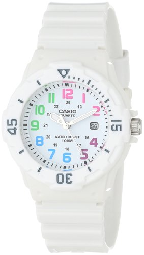 Casio Women&#8217;s LRW200H-7BVCF Dive Series Diver Look Analog Watch