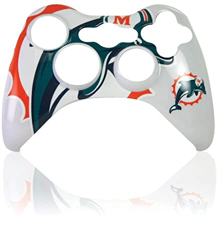 Xbox 360 Official NFL Miami Dolphins Controller Faceplate