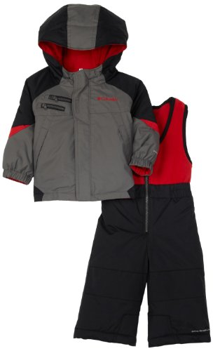 Columbia Rugged Reversible Set, Charcoal, 18 Months