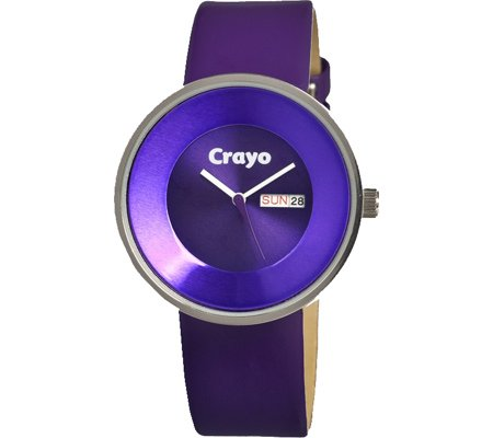 crayo-womens-cr0201-button-purple-leather-watch