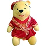 58cm Giant Winnie The Pooh In Dressing Gown Soft Toy