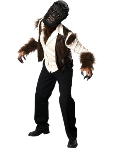 Adult-Costume Wolfman Deluxe Adult Costume Halloween Costume