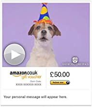 Woofy Birthday (Animated) - E-mail Amazon.co.uk Gift Voucher