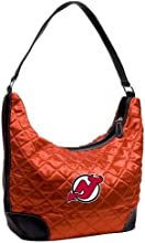 NEW JERSEY DEVILS NHL QUILTED HOBO LIGHT RED by Little Earth