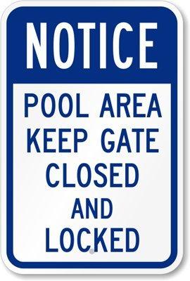 Pool Gate Lock