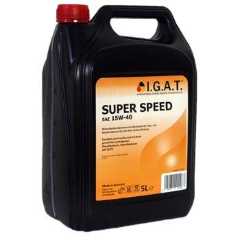 5 Liter SAE 15W-40 - I.G.A.T. Super Speed - mineralisches