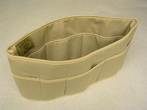 Purse To Go® purse organizer insert transfer linerENCLOSED BOTTOM BUCKET TYPE Large size (12