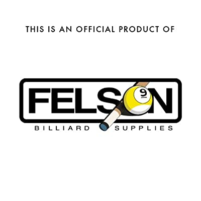 10 12mm Hard Leather Screw-on Pool Cue Tips by Felson Billiard Supplies