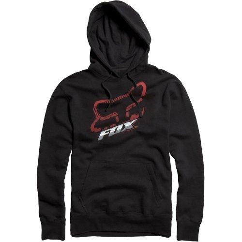 Fox Racing  Cramped 2 Fleece Men's Hoody Pullover Casual Sweatshirt - Black / Small