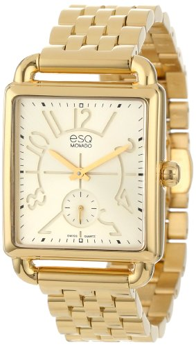 ESQ by Movado Women's 07101408 Origin Yellow-Gold Plated Swiss Quartz Watch
