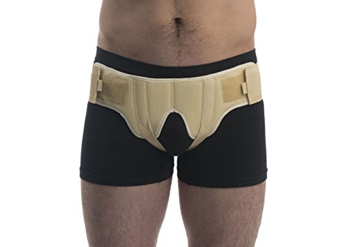 ®BeFit24 - (Size 2) Double Inguinal Hernia Belt for Men - Medical Groin Support Truss - Made in Europe - 5 Year Warranty