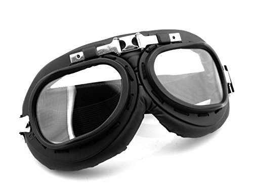 Motorcycle Accessories Outdoor Sports ATV Riding Scooter Driving Flying Vintage Men Protect Riding Goggles Glasses Black For Kawasaki Eliminator 125 2001 2002-2009