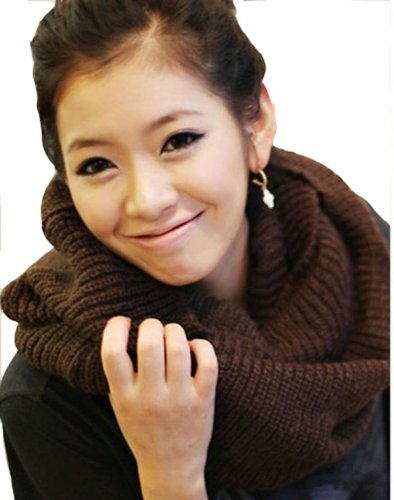 Evalley Women Winter Warm Neck Warmer Thick Knit