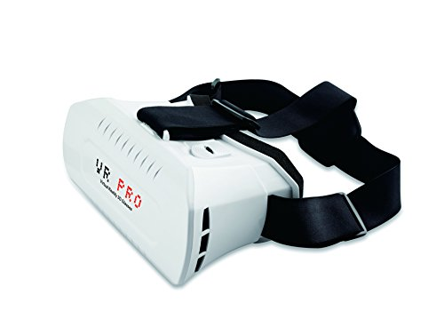 VIGICA 3D VR Headset Virtual Reality Glasses with Headband Adjustable Focal Distance Pupil Distance Google Cardboard for Android iPhone 3.5-6.2 inch